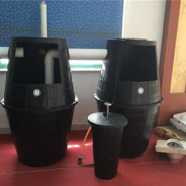 双瓮漏斗式化粪池常见的安装问题