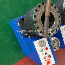 厂家生产【大棚钢管缩管机】【建筑工地钢管缩头机】【高压油管锁