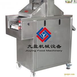 牛排自动断筋机厂家、牛排加工生产线嫩化机、断筋扎孔机图片