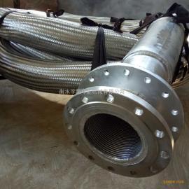 双法兰大口径金属软管 102-1000mm口径各种接头金属软管定制单位