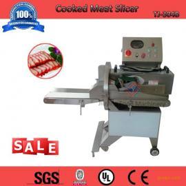 三刀式高效切肉片机,切熟牛肉机,自动接料机,切香肠片机厂家