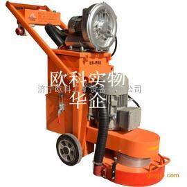 欧科牌380型环氧地坪打磨机自吸尘无尘地面研磨机