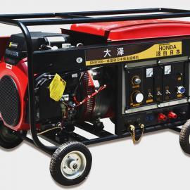 300A小型汽油发电电焊机/本田型号SHU300