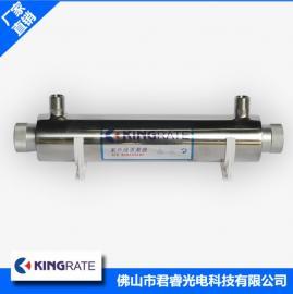 君睿厂家直销14w过流式紫外线杀菌器 不锈钢紫外线杀菌器