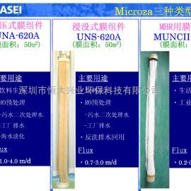 圆柱式MBR膜组件旭化成中空纤维膜MUNC-620AⅡ