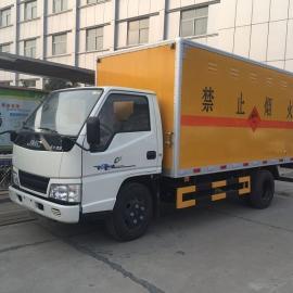气瓶运输车/江铃凯运(国四)1.3吨爆破器材运输车