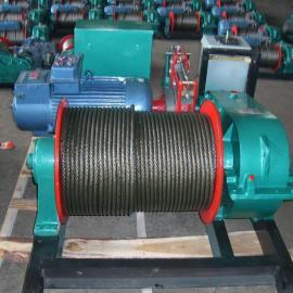 1吨快速卷扬机配用15kw-6极电机直径13钢丝绳