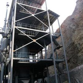 平顶山1.8米两段式煤气发生炉 琉璃瓦煤气炉
