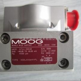MOOG电液伺服阀