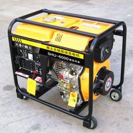 7kw日本进口柴油发电机报价