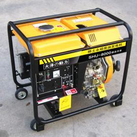 5kw永磁式家用柴油发电机,SHU6000