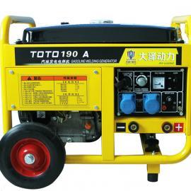 190A汽油两用电焊机TO190A