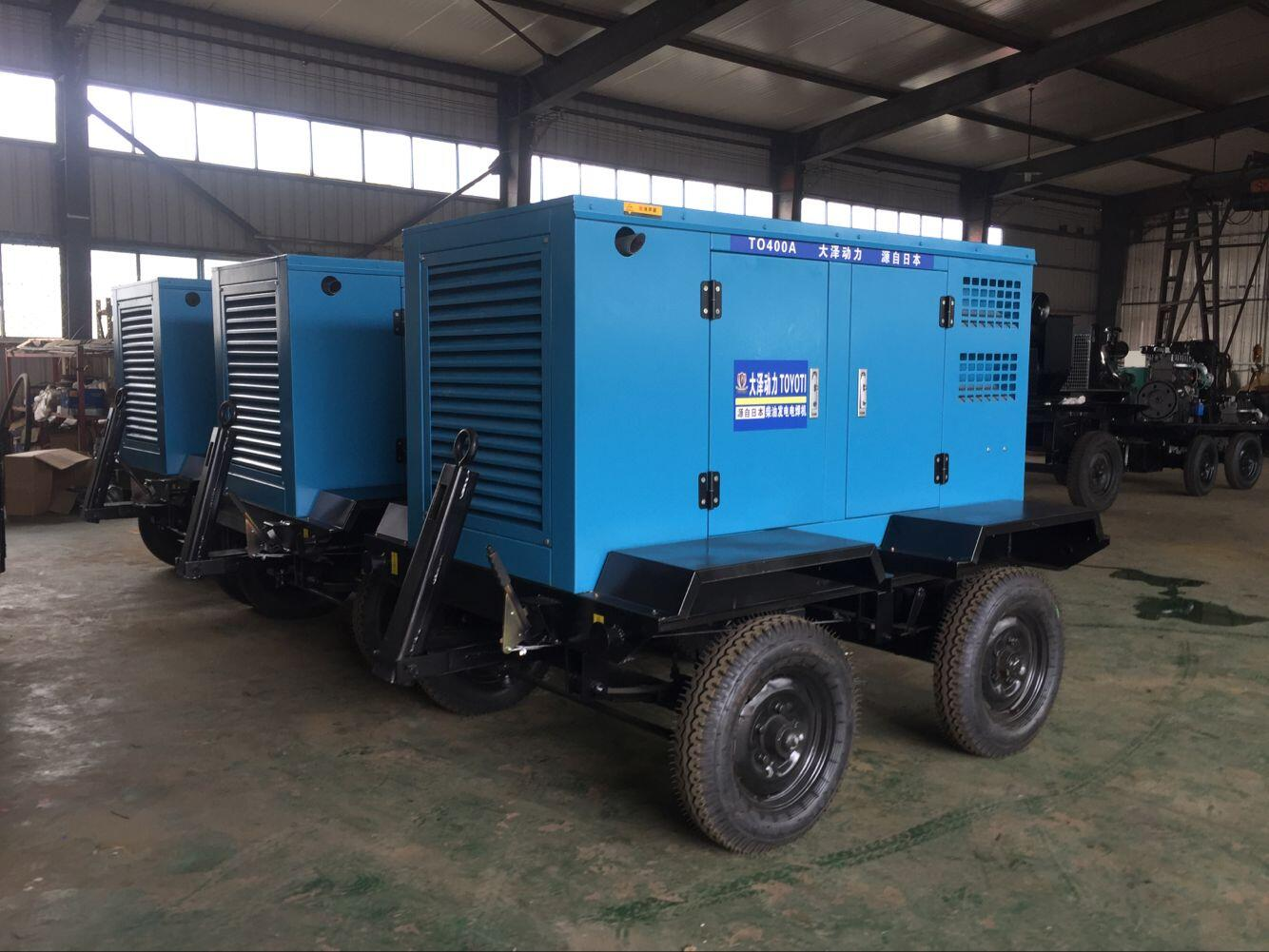 管道柴油发电电焊机500A