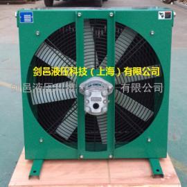 液压马达驱动型工程机械液压油散热器风冷却器