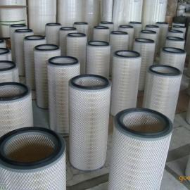 320*1000工业粉尘滤芯 搅拌站除尘滤芯 烟气空气滤芯