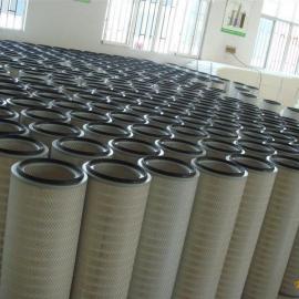 320*900工业粉尘滤芯 搅拌站除尘滤芯 烟气空气滤芯