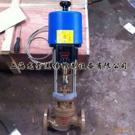 电动温度调节阀 ZZWPE电动温控阀 自力式电动温度控制阀