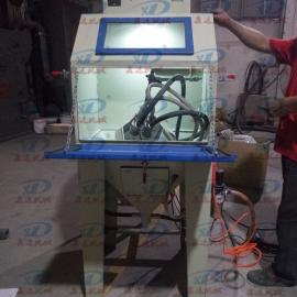 不锈钢箱包螺丝喷砂机鑫达不锈钢螺丝小型自动喷砂机