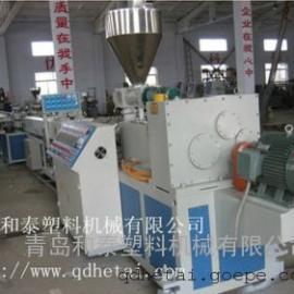 PVC双管生产线,穿线管挤出生产线,塑料管材设备深度验厂