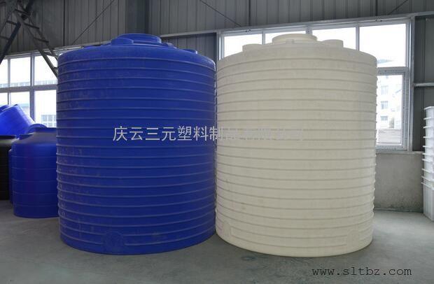 宿迁 徐州化工塑料储罐 滚塑水塔锥底搅拌罐10吨废水桶