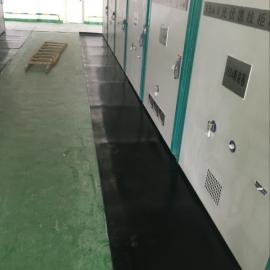 变电站耐酸碱绝缘橡胶板/电力电工红色绝缘胶垫