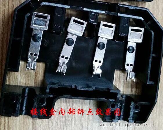 光伏组件接线盒盖超声波塑料焊接机