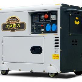 柴油发电机哪个品牌好,7kw大泽柴油发电机