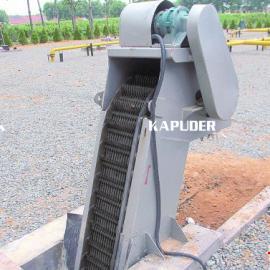 机械格栅安装图 回转式格栅除污机安装图 南京凯普德
