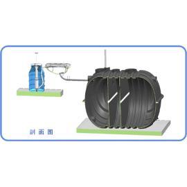 延吉市旱厕专用三格式化粪池