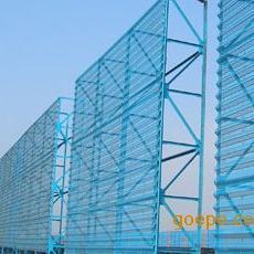 供应各种准标型防风抑尘网 挡风墙 金属板网