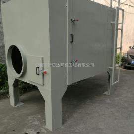 树脂砂轮厂废气收集净化设备