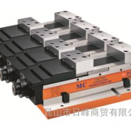 HQV-160VS-3S并列式2.3.4台定压式倍力虎钳