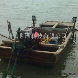 海水养殖用割水草机
