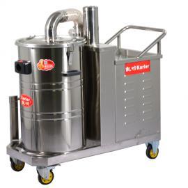 380v大功率吸尘器大功率工厂车间吸灰尘铁屑铁渣清理4kw