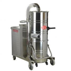 380v大功率吸尘器3kw不锈钢吸尘器吸水吸尘吸铁屑吸尘器