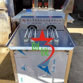 全自动双条香肠扎线机/双路香肠扎线机厂家