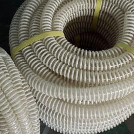 PVC透明塑筋软管 塑筋螺旋增强软管 塑料软管