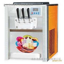 冰之乐BQL-818T台式三3色软质冰淇淋机