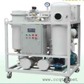 ZJC汽轮机油三重破乳化真空分水滤油机