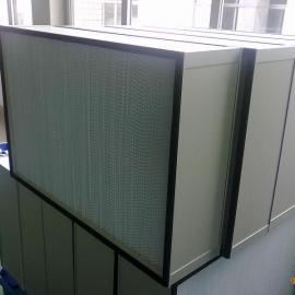聊城洁净净化工程之空气过滤风箱中效过滤箱