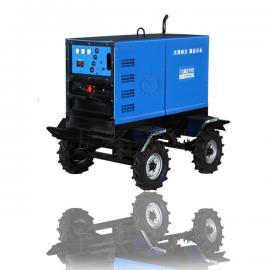 大型静音400a柴油发电焊机/双把焊