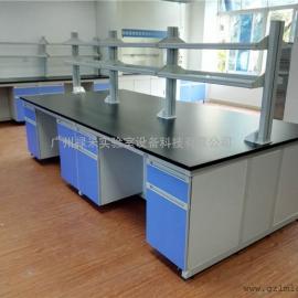化实验室水槽台全钢不锈钢结构化学物理通风洁净实验台操作台柜