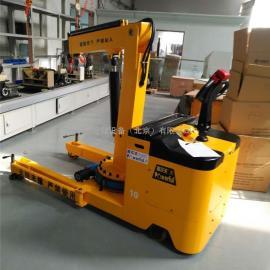 专业定制出口型电动平衡重式移动小吊车 模具吊车360度旋转