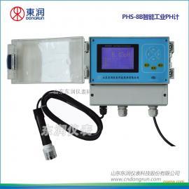 在线PH计,智能型ph计,墙挂式485通讯ph计,过程控制PH计