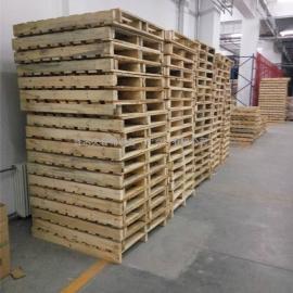 厂家直销 实木托盘 叉车垫仓板 北京木托盘 卡板定制批发