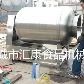 大型真空滚揉机 一次装料一吨的真空滚揉机