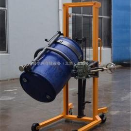 厂家供应油桶车 油桶搬运车 手动液压油桶翻转车 油桶堆高车