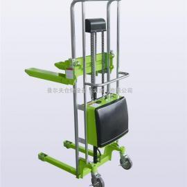 厂家直销电动堆高车液压堆高车 半电动叉车轻型堆高车北京现货