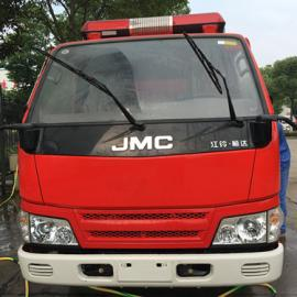 江特牌国五江铃水罐消防车|2吨江西五十铃水罐消防车