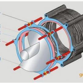 大连化工污水污泥专用全不锈钢304叠螺式污泥脱水机叠螺机
